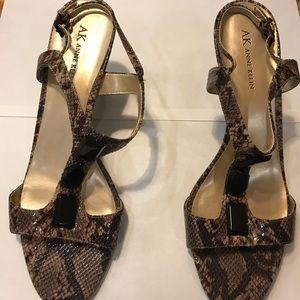 Anne Klein Leather Sandals
